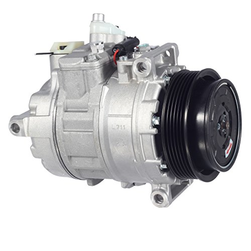AUTEX AC Compressor and A/C Clutch CO 11245C 0002306511 97366 Replacement for 2002-2013 Mercedes G55 AMG G550 ML320 ML350 ML55 AMG SLK280 (A/c Clutch Benz Mercedes)