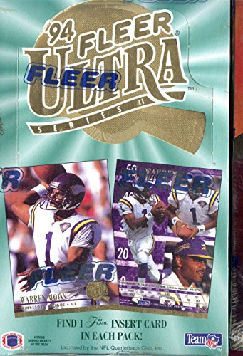 1994 Fleer Ultra Series 2 II Two Set Football Card Wax Pack Box FACTORY SEALED ()