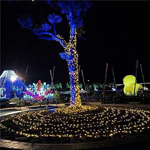 LED-Lichterketten, Die Blitzmodus Fee Pavillon Terrasse 8 Weihnachtsbaum Lichterkette Innendekoration Zaun Weihnachtshochzeitsfest (Color : Purple, Size : 20m*200leds)