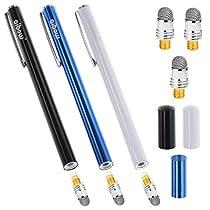 aibow タッチペン スマートフォン タブレット スタイラスペン iPad iPhone Android 3本+ペン先3個 6...