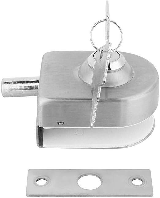 Broco Cerradura de la Puerta de Acero Inoxidable Cristal pestillo for el hogar Accesorios de ba/ño