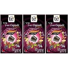 30 Nespresso Compatible Pods - Chai Spiced Black Tea, 3 Boxes - 10 Pods per box
