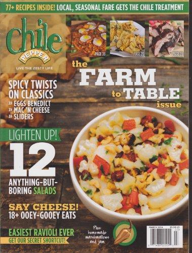Chile Pepper Magazine March 2014