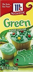 McCormick Food Color, Green, 1 Fluid Ounce