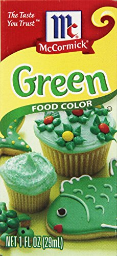 McCormick Food Color, Green, 1 Fluid Ounce