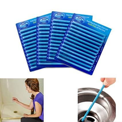 UCTOP STORE 12 varillas limpiadoras de drenaje y olor, se ...
