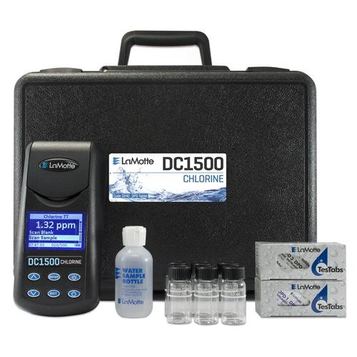 LaMotte 3240 DC1500 Chlorine Colorimeter Kit, DPD Tablet