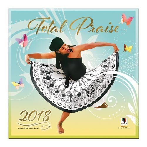 "Office Products : African American Expressions - 2018 Total Praise 16 Month Calendar (12"" x 12"") WC-163"