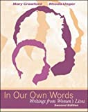 img - for In Our Own Words: Writings from Women's Lives by Mary Crawford (2000-11-01) book / textbook / text book