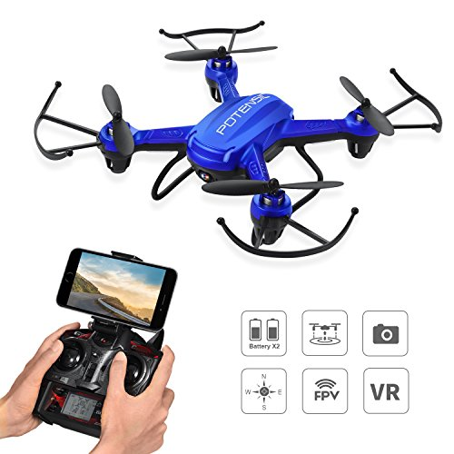 Drone with Camera, Potensic F186WH Hover RC Drone …