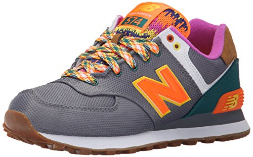 New Balance Women's WL574 Expedition Pack-W, Grey, 5.5 B US