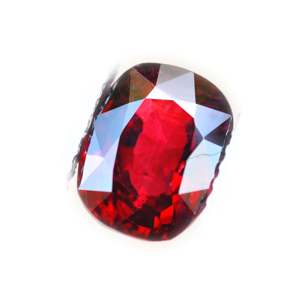Lovemom Certified BGL 2.15ct Natural Cushion Red Spinel Myanmar #B