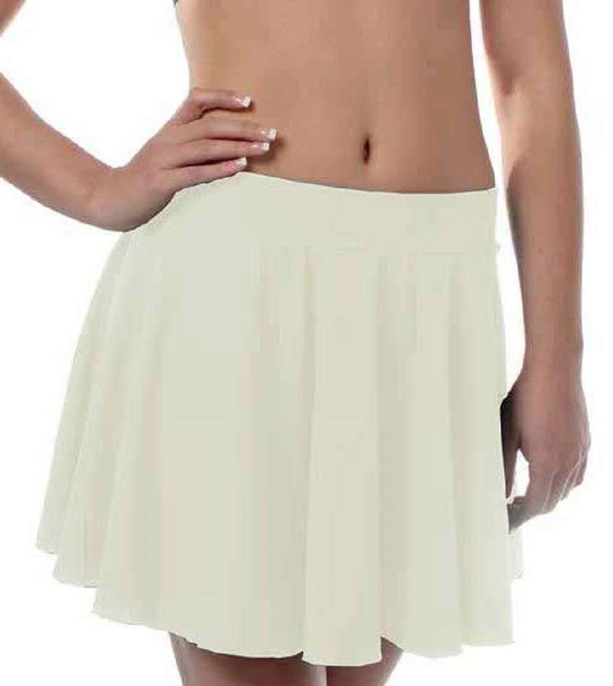 Girls Irish Dance Skirt Medium Ivory by B Dancewear Child Sizes by Bailar Dancewear