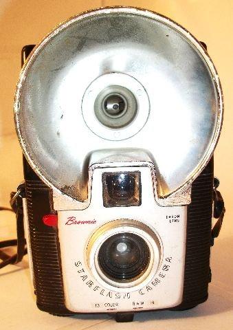 Vintage Kodak Brownie Starflash Camera