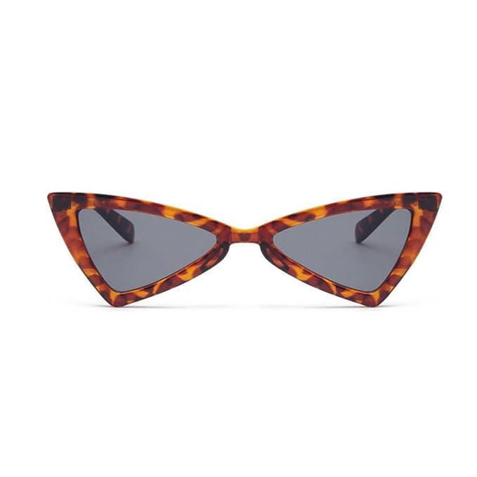 CHENGXIAOXUAN Triángulo De Gafas De Sol Gafas De Sol De Ojo ...