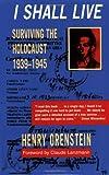 I Shall Live, Henry Orenstein, 0825305004