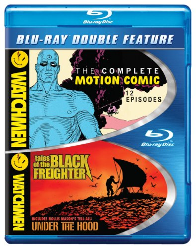 Blu-ray : Watchmen: The Complete Motion Comic / Watchmen: Tales of the Black Freighter & Under the Hood (2 Disc)