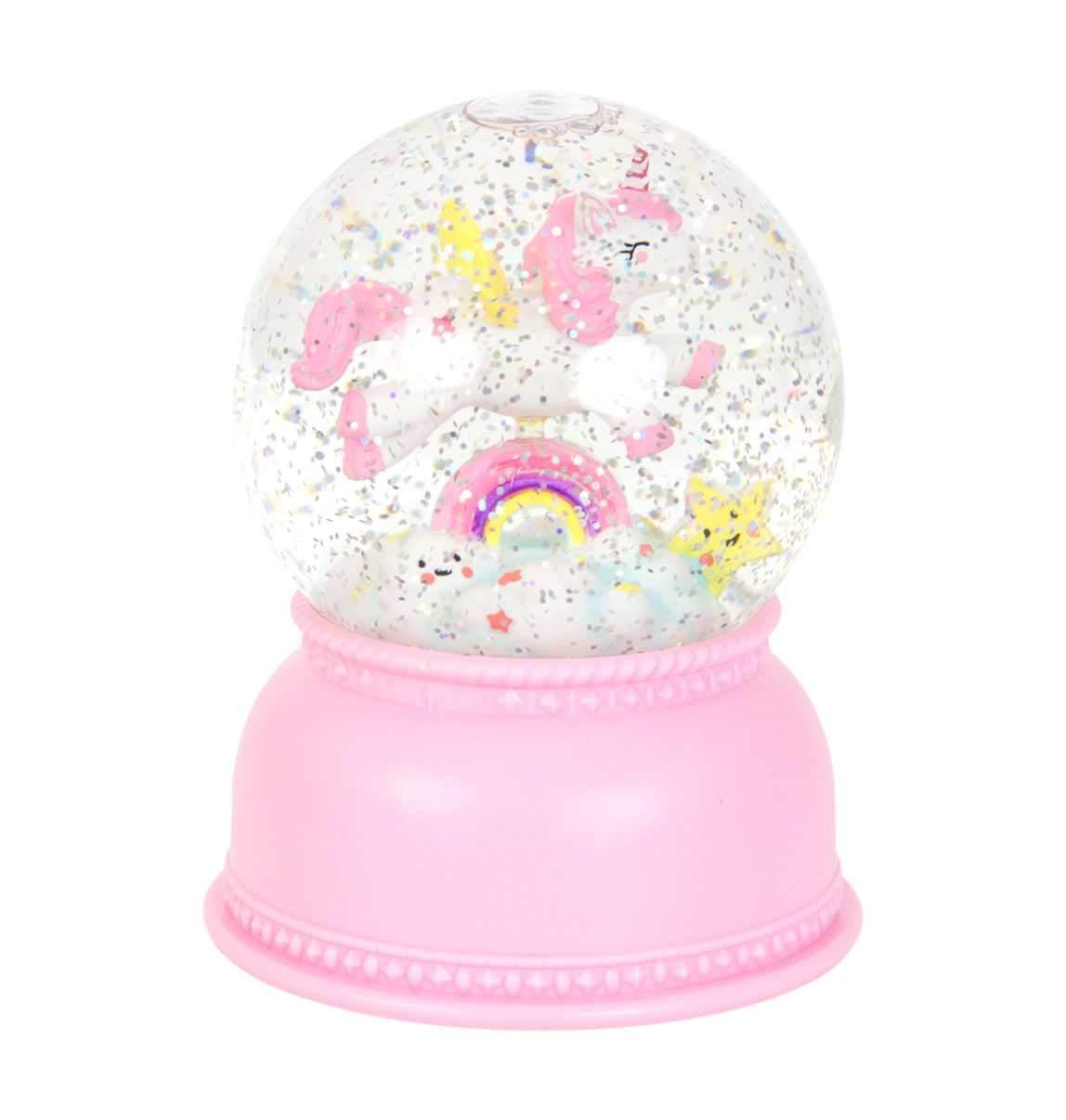 A Little Lovely Company Snowglobe Light  Unicorn B0772Y2MW3 Schneekugeln Schneekugeln Schneekugeln 770229