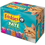 Purina Friskies Classic Pate, Variety Pack (5.5 oz., 48 ct.) (pack of 6)