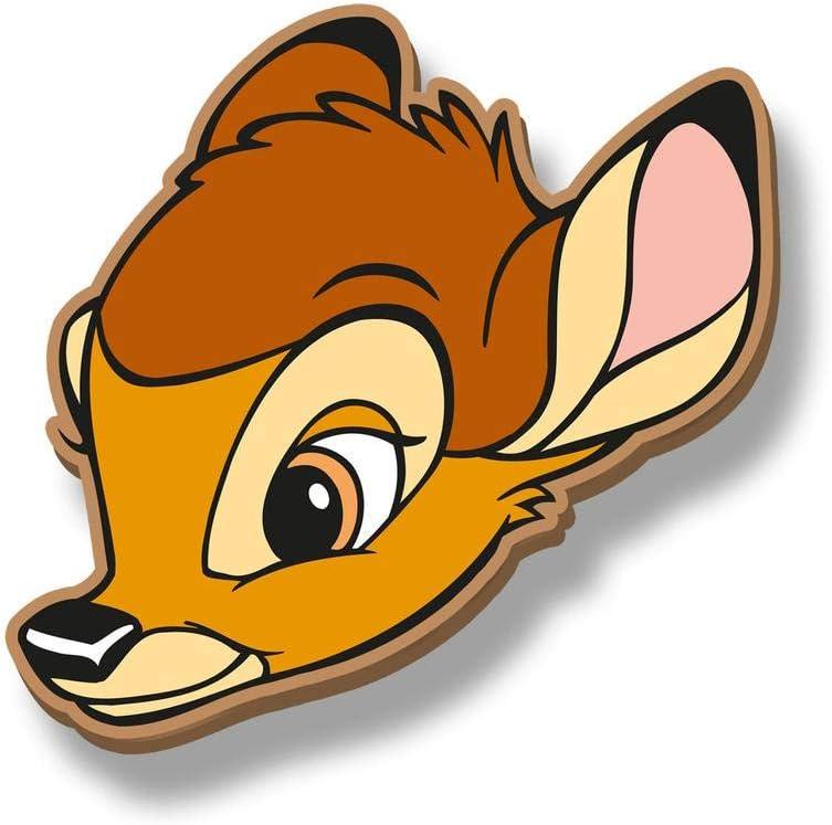Marron 11 cm Karactermania Diseny Icons Bambi-Slim Geldb/örse Porte-Monnaie Brown