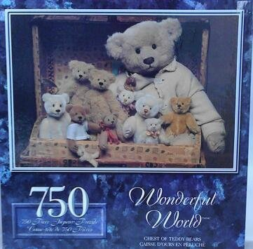 Chest of Teddy Bears 750 Piece Puzzle by Sure-Lox