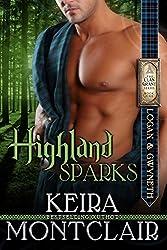 Highland Sparks: Logan and Gwyneth (Clan Grant Series Book 5) (English Edition)