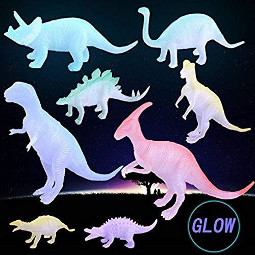 Amitasha Glow in Dark Action Figure Dinosaur Toy Playing Set of 8 (B084H9XYTT) Amazon Price History, Amazon Price Tracker