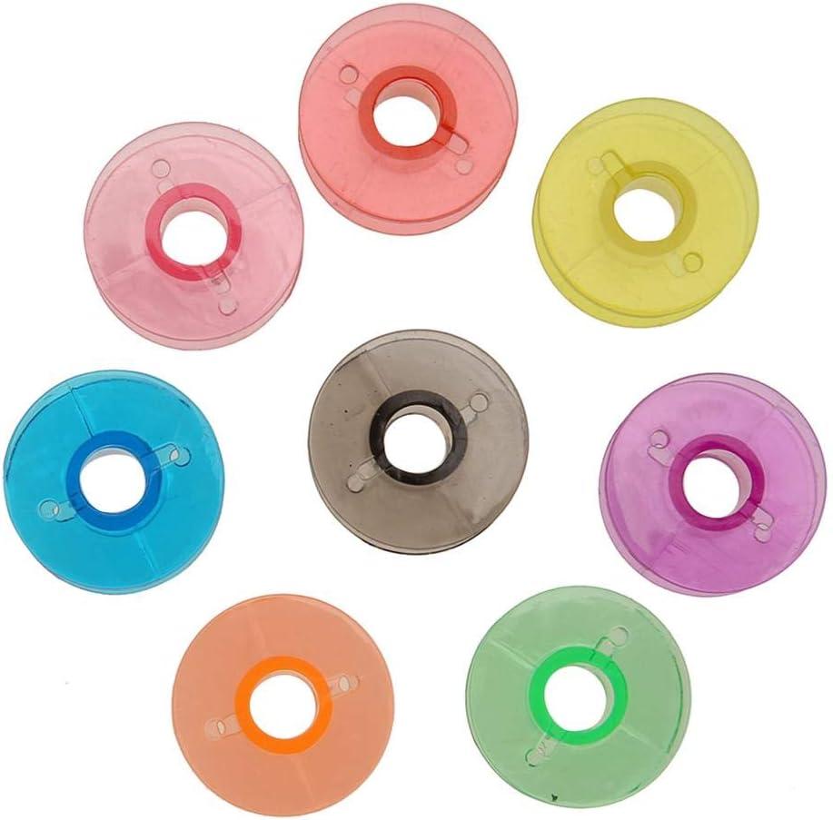 leere Spulen für Nähmaschi //Neu Matefielduk Nähmaschinen Spulen aus Kunststoff