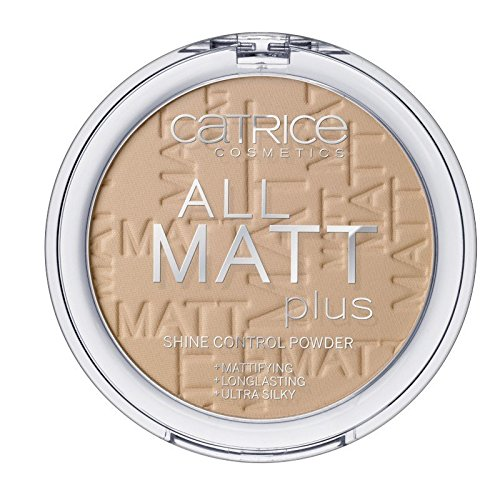 - Catrice - Puder - All Matt Plus Shine Control Powder - Warm Beige 030