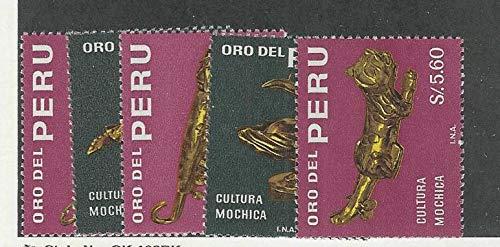 Peru, Postage Stamp, 505-509 Mint NH, 1968, JFZ