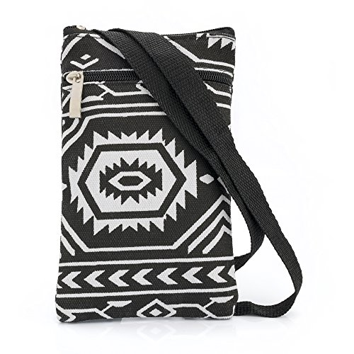 Shoulder Shopping Bag Beach and Black Messenger Over Handbag Cross Bag Ladies Body Canvas White Bag Abstract Holiday x4BHnIq