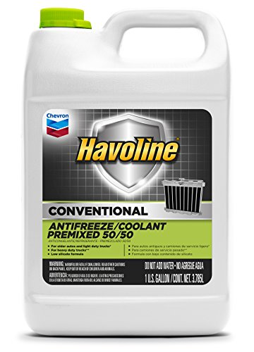 from usa havoline conventional prediluted 50 50 antifreeze coolant 1 gallon pack of 6. Black Bedroom Furniture Sets. Home Design Ideas