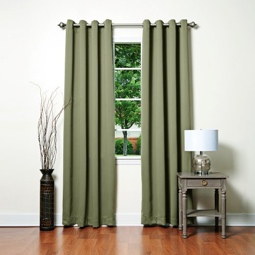 Blackout Curtains blackout curtains 90×90 : Curtains 90x90 eyelet green - StoreIadore