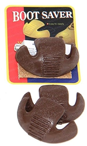 Boots Saver Toe Guards (1 Pair, Brown)