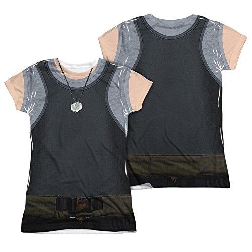 Juniors: Battle Star Galactica- Tank Top Costume Tee (Front/Back) Juniors (Slim) T-Shirt Size XXL ()