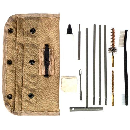 Tac Shield Universal M16/Ar15 Butt Stock Cleaning Kit, Tan