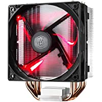 Cooler Master Hyper 212 LED CPU Cooler with PWM Fan (Red LED Fan)