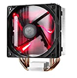 Cooler Master Hyper 212 LED CPU Air Cooler '4 Heatpipes, 1x 120mm PWM Fan, Red LED' RR-212L-16PR-R1