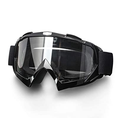 Surpassme Motorcycle Goggles UV Protection Ridding Glasses for Motocross Dirt Bike: Automotive
