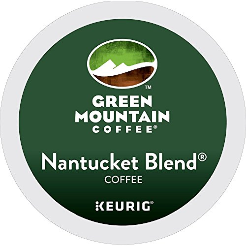 Keurig Green Mountain Coffee Regular Nantucket Blend K-Cup Pod, Medium Roast, 48 Pack - Nantucket Green