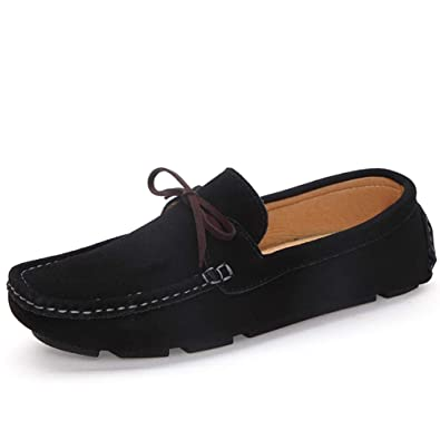 Amazon.com | T-JULY Autumn Women Loafers Moccasin Homme Casual Suede ...