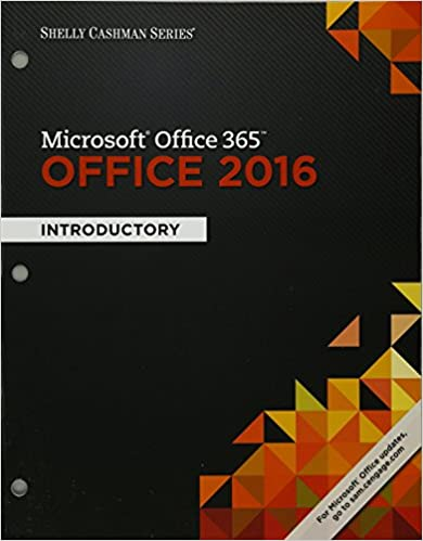Bundle Shelly Cashman Series Microsoft Office 365 2016 Introductory Loose Leaf Version LMS Integrated MindTap Computing 1 Term 6 Months