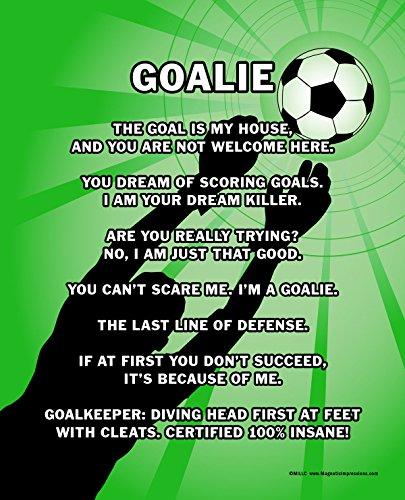 Unframed Soccer Goalie 8 x 10 Sport Poster Print