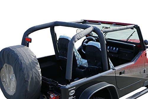 Rampage Jeep 768915 Roll Bar Cover Kit