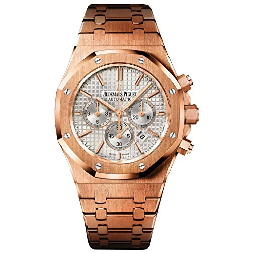 Audemars Piguet Royal Oak 26320or.oo.1220or.02 41mm Pink Gold Royal Oak Bracelet White Dial