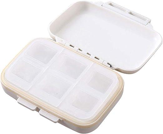 HJDQ Caja de Pastillas Mini Linda Caja de Pastillas sellada ...