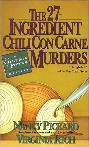 Download del libro della giungla The 27-Ingredient Chili Con Carne Murders: A Eugenia Potter Mystery (Eugenia Potter Mysteries) PDF PDB CHM