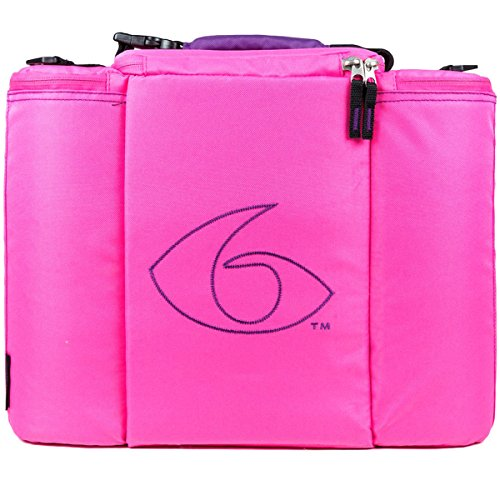 Innovator Insulated Meal Management Bag, Pink, 500 (5 Meals) by 6 Pack Fitness (Image #2)