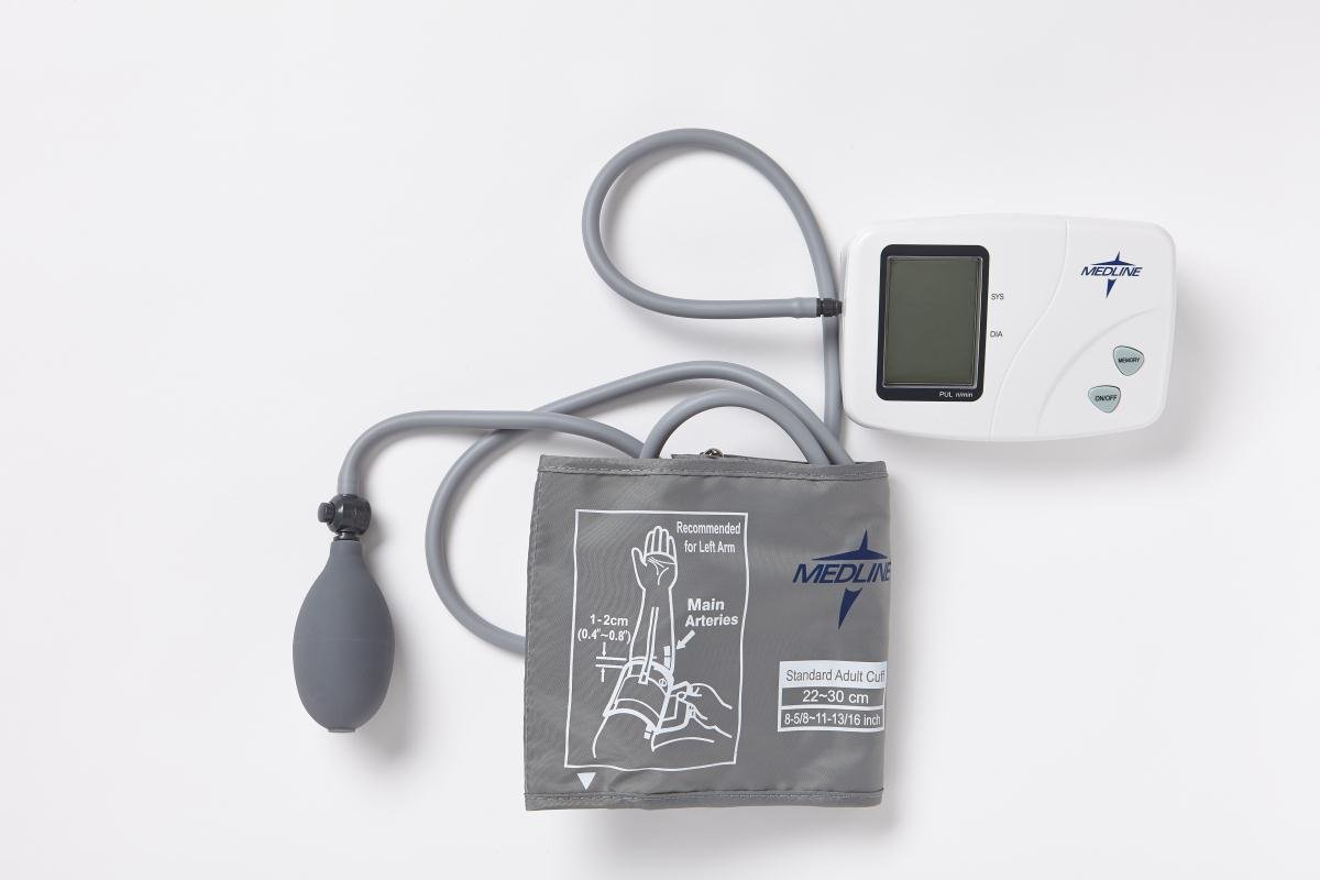 Medline Pro Semi-Automatic Digital Blood Pressure Monitor - 1 EA