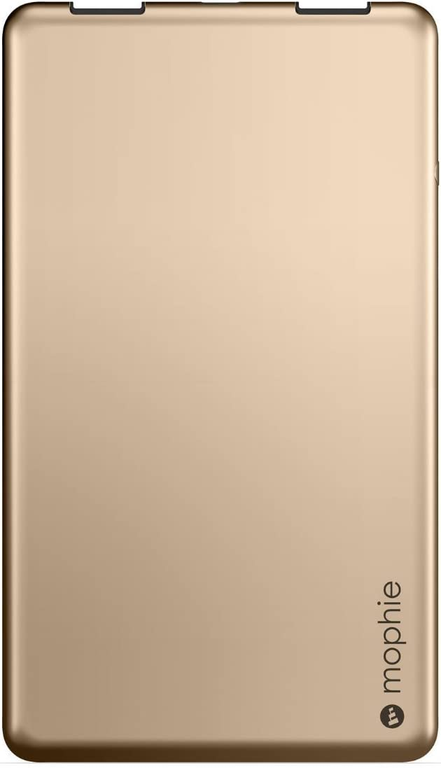 mophie Powerstation 3X for Smartphones and Tablets Renewed 6,000 mAh - Gold